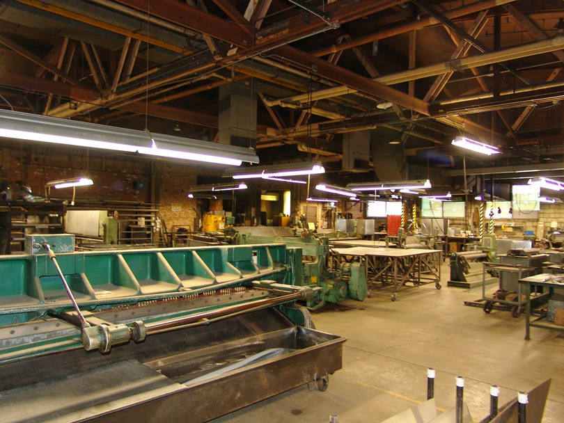 Murphy & Miller sheet metal department